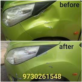 Magic Car Dent repair without damage original paint