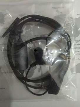 Headset earphone  ht handy talkie / walky talkie