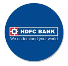 On role job opening for HDFC bank pvt.