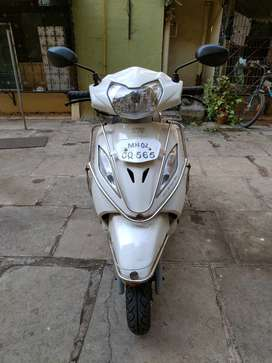 TVS Wego White. March 2012. Very good condition.