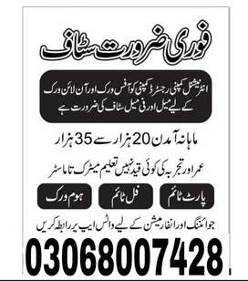 Jobs Available For Digital Marketing and online Advertisement