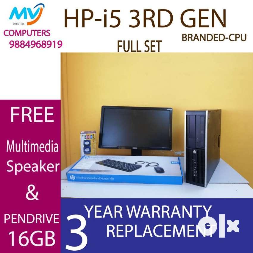 500gb hdd/3 year's warranty replace/4GB ram#cpu-i5 3rd gen-graphic 2GB 0