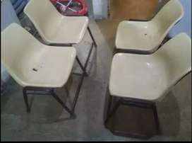 Heavy duty and Beautyfull Iron chairs for sale in cheap bcz shifting