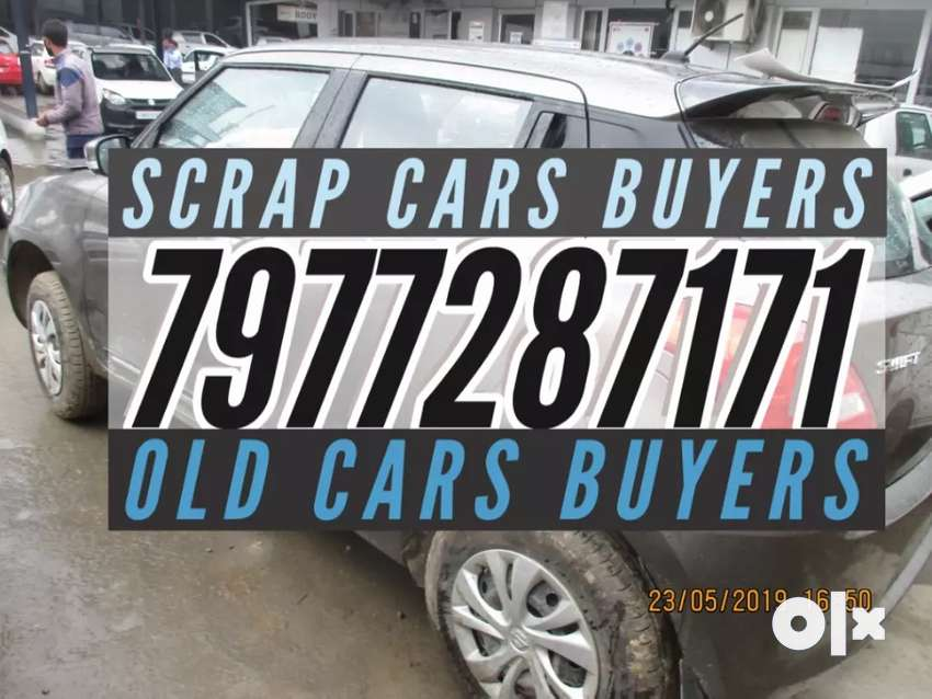 All cars we buy in scrap 15 years old smme 0