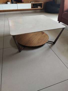 Center table with Italian marble top