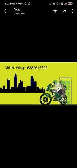OLA Bike taxi job
