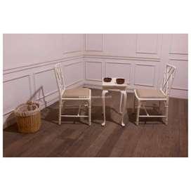 Set Kursi Teras Minimalis Modern Warna PutihSet Kursi Teras Minimalis