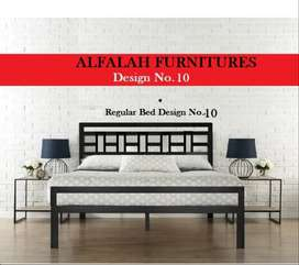 Durable Quality Iron Queen Size Bed available in reasonable price