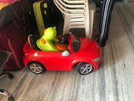 Remote control car and potty training