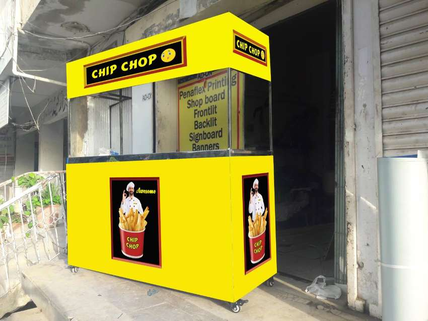 French Fries Counter for Sale 0