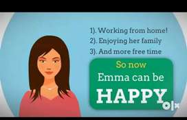 Work From Home & Earn Huge Weekly IncomeLooking for real time