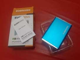 Power Bank evercoss 2600mAh (Fashionable & Portable)
