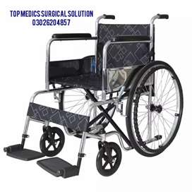 Wheel Chair Portable heavy duty extra wide folding manual  wheelchair