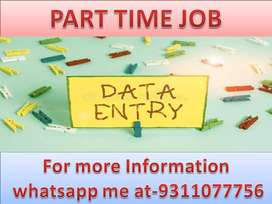 Weekly earn 4k to 8k .Home based job of data entry projects.