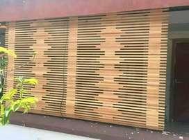Jual Tirai Kulit bambu dan isi Bambu dan tirai rotan