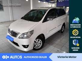 [OLXAutos] Toyota Innova 2013 2.5 G AT Automatic Diesel Putih