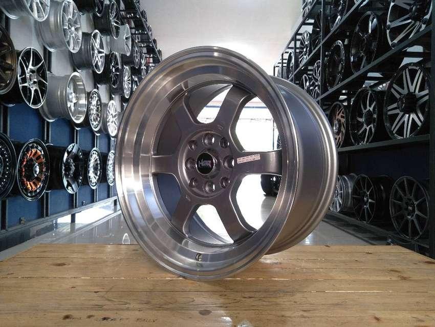 for sale HSR TOKYO RIFU R16X7/8 H8X100/114,3 agya brio jazz xnia dll 0