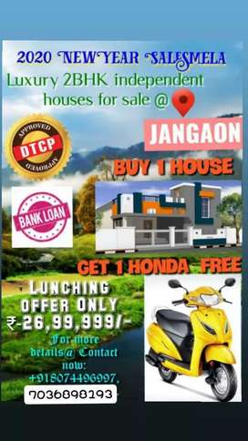 Buy the one flate get 1 Honda actva free