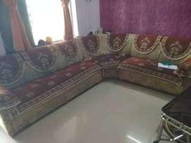 Full cover sofa set
