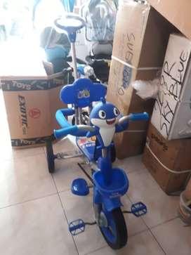 Sepeda roda tiga exotic & gratis ongkir