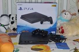 Playstation 4 PS4 Slim 1TB HDR Fullset Full Game Mulus GARANSI