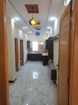 H-13 Islamabad 2 bed 2 bath T.v lounge kitchen brand new Appartment