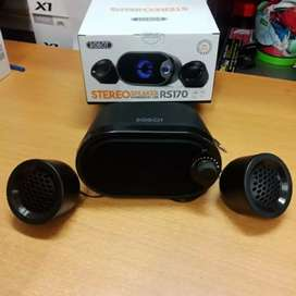 speaker aktif mini power usb merek robot silahkan yg minat