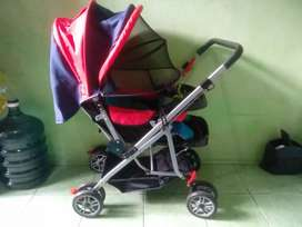 Stroller Bayi 0 - 3 Tahun Pliko Creative