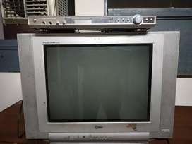 Lg Tv with cd dvd player.