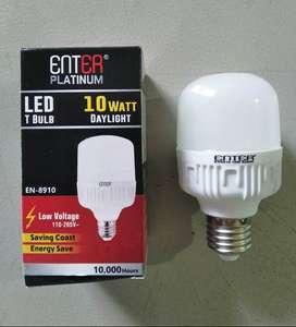 Lampu LED 10W Merk Enter Platinum