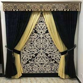 Curtain palace free service on door step