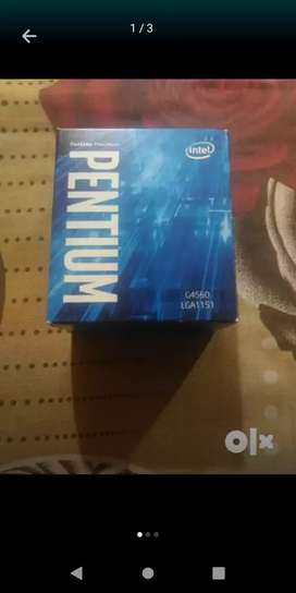 7th gen g4560 Processor and motherboard