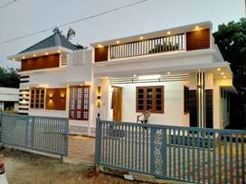 Thrissur, Avanoor, 3BHK stylish new villa,5cent, near medical college