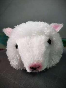 Gantungan kunci/tas bentuk domba