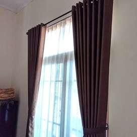 tirai kain hordeng gorden kain penghias jendela