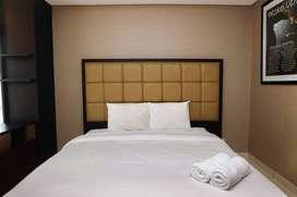 Elegant 1BR Apartment at 1 @ Cik Ditiro By Travelio