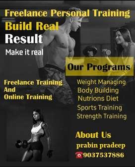 Freelance Fitness Trainer