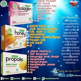 Sabun kolagen transparan (100gr)