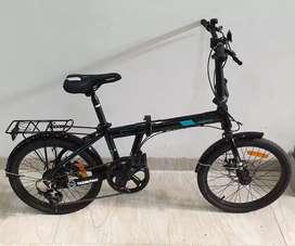 Sepeda lipat seli Tabibitho 2.0 Disk 7sp Murah