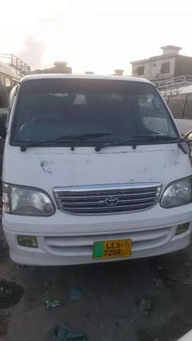 Toyota Hiace 2000 Model reg in 2013