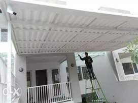 Menerima pembuatan kanopi atap alderon rongga