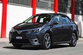 Toyota Corolla Altis now u get on Easy monthly installments.
