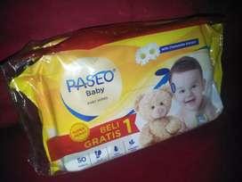 TISUE BASAH PASEO 50's BUY I GET 1