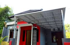 Canopi atap spandek anti karat canopy minimalis