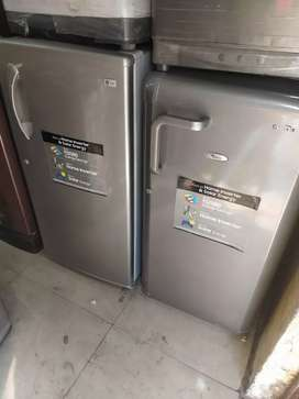 with 5 year warranty LG 190 liter single door fridge