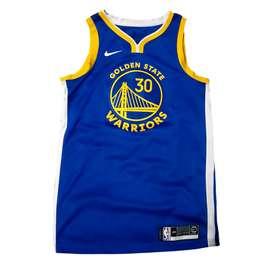100% Original Nike NBA Swingman Jersey Stephen Curry Warriors Icon