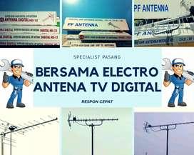 Teknisi pemasangan signal antena tv murah limo