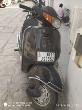 Black colour activa