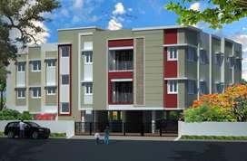 2 BHK flats @ Vellakal , Nanmangalam
