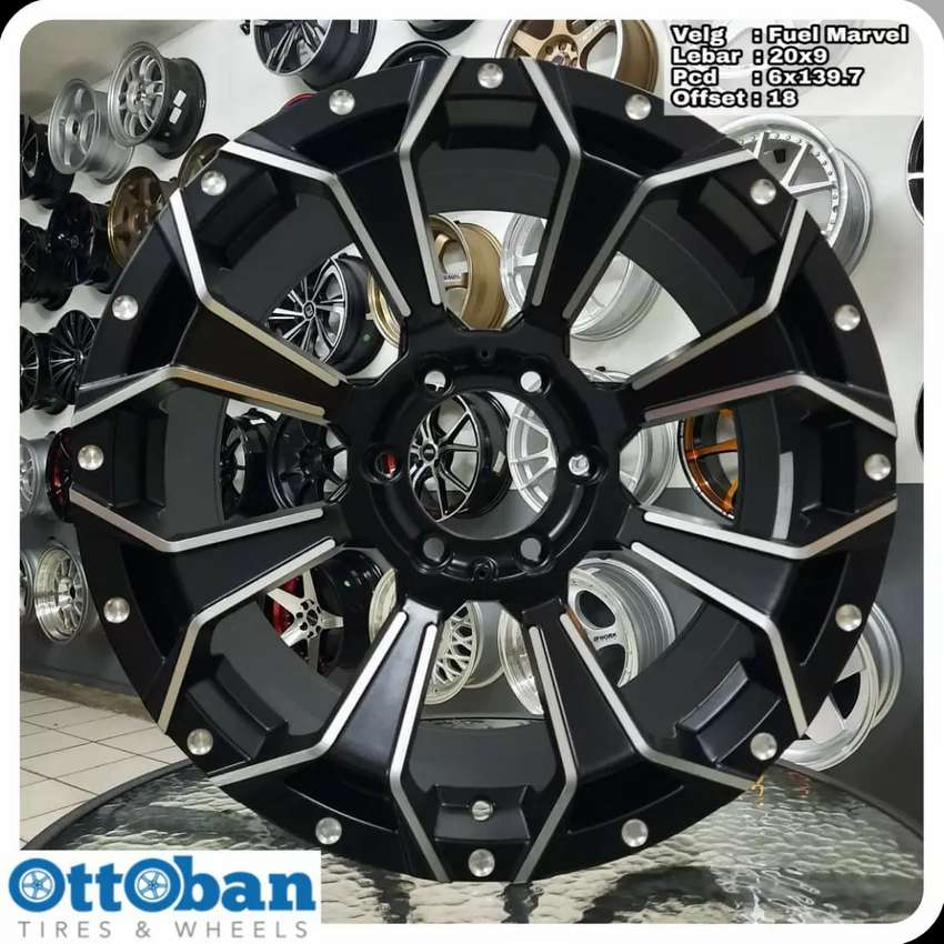 Velg Pajero Everest Fortuner murah Marvel. R20X9 hole 6x139.7 ET 18.